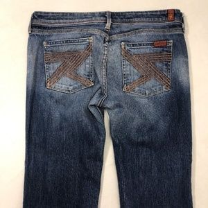 7 For All Mankind Flynt Jeans Short Inseam Size 30